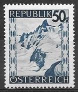 1945 50g Silvretta Mountains, Mint Hinged