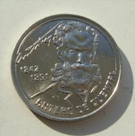 Lp PORTUGAL - 1991 - 100 Escudos - Antero De Quental (Poet) - KM#664 (Krause Portugal) = KM#46 (Krause Azores) - Açores