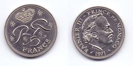 Monaco 5 Francs 1971 - 1960-2001 Nouveaux Francs
