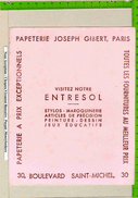BUVARD : Papeterie Joseph GIBERT  Stylo - Papeterie