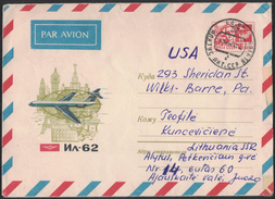 AZ189     URSS 1966 Cover Air Mail To USA - Covers & Documents