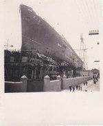 "PHOTOcm.8x10 VARO TRANSATLANTICO""REX"" 1-AGOSTO 1931 SESTRI PONENTE (GENOVA) -2-0882-26905 - Paquebots"
