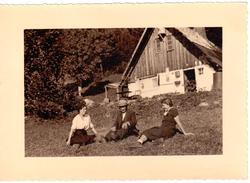 """Photo """"Au Platet Avec Le Père Giroult"""" (17.5cm X 12.5cm) - France"""