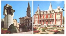 Francia - Fotografia LOURDES, L'HOTEL DE VILLE - LE MONUMENT AUX MORTS - PERFETTA N34 - Riproduzioni