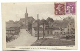 95 - FONTENAY-en-PARISIS - Rue De La Croix-Maître-Renaud - CPA - France