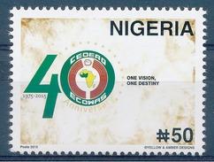 NIGERIA - 2015 - CEDEAO / ECOWAS - MNH / ( ** )