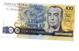 Billete Brasil. 100 Cruzados . Plancha. (ref. 6-512) - Brasil