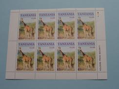 GIRAFFE ( Zie/voir Foto´s Voor/pour Détails ) !! - Tanzanie (1964-...)