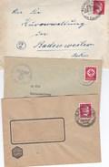 Lot De 82 Lettres Pour Badenweiler (49 Ordinaires + 33 LR) Période 2e Guerre Mondiale. Origines Diverses - Collections