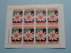 NYMPHAEA CAERULEA ( Zie/voir Foto´s Voor/pour Détails ) !! - Tanzanie (1964-...)