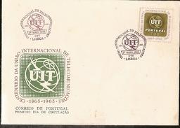 Portugal & FDC 50 Years Of The World Labor Organization, O.I.T Lisbon (1047)
