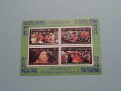 60th Birthday Of Her Majesty Queen Elizabeth II ( Voir Photo Pour Détails ) !! - Tanzanie (1964-...)
