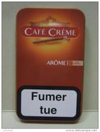 BOITE Métal Vide CAFE CREME AROME (5 Cigares) - Contenitore Di Sigari