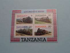 LOCOMOTIVE Series - Salute To Tanzania RAILWAYS ( Voir Photo Pour Détails ) !! - Tanzanie (1964-...)