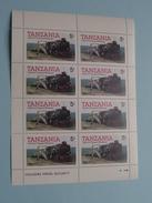 Salute To Tanzania RAILWAYS ( Voir Photo Pour Détails ) !! - Tanzanie (1964-...)