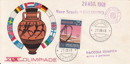 OLYMPISCHE SPIELE-OLYMPIC GAMES, MEXICO, 1968, Special Stamps / Postmarks !!