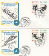 OLYMPISCHE SPIELE-OLYMPIC GAMES, Western Germany, 1972, Special Card/stamp/postmark !!