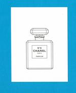 Cartes Parfumées Carte CHANEL N°5   De CHANEL - Cartes Parfumées