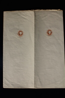 New South Wales: Uncut Pair Of Newspaper Wrappers Unused  One Penny - Storia Postale