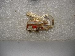 Pin's Du Camion àgrande échelle Des Sapeurs Pompiers De La Ville De VIENNE - Brandweerman