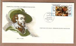 Libya  FDC 1983  International Society Of Postmasters - Rubens