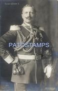 66353 ROYALTY GERMANY KAISER EMPEROR WILHELM II POSTAL POSTCARD - Familles Royales