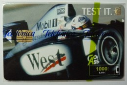 SPAIN - Chip - 1000 Units - West III - CP-191 - 08/00 - 8200ex - Mint Blister - Conmemorativas Y Publicitarias