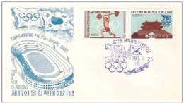 Korea 1960 Olympics FDC