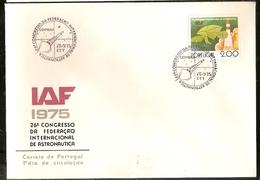 Portugal & FDC XXVI International Congress Of Astronautics, Coimbra 1975 (32) - FDC