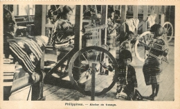 PHILIPPINES ATELIER DE TISSAGE  MISSIONS DE SCHEUT - Philippines