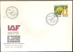 Portugal & FDC XXVI International Congress Of Astronautics, Lisboa 1975 (32) - FDC