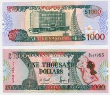 1996 // BANK OF GUYANA // 1 000$ // UNC - Guyana