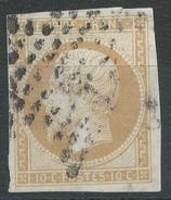 Lot N°34887  N°13B, Oblit étoile De PARIS, Belles Marges, Clair, 2é Choix - 1853-1860 Napoléon III