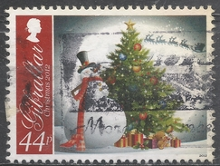 Gibraltar 2012. Scott #1361 (U) Christmas, Snowman, Tree, Gifts, Flying Sleigh And Reindeer * - Gibraltar