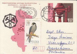 OLYMPISCHE SPIELE-OLYMPIC GAMES, Special Card / Cover / Stamps !!