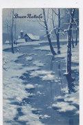 CARD BERTIGLIA BUON NATALE PAESAGGIO INVERNALE FP-V-2-0882-26920 - Bertiglia, A.