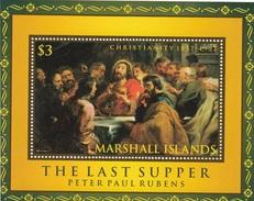 MARSHALL ISLANDS Sacral Paintings 1,unused,Rubens