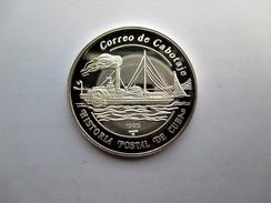 Cuba, 5 Pesos, 1993 Historia Postal De Cuba Steamship - Cuba