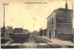 Carte Postale Ancienne De SAVONNIERES En PERTHOIS - France