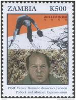 Venice Biennale Showcases Paul Jackson Pollock´s Abstract Expressionism, Art, Artist, Painter, MNH Zambia