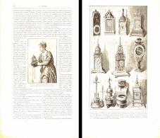 LES HORLOGES RENAISSANCE D'APRES LES OEUVRES D'ART 1896 - Bijoux & Horlogerie