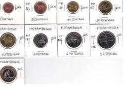 Mozambique - Set Of 9 Coins Of 2006  - UNC - Mozambique