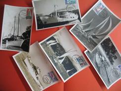 Lot De  6  Carte Maximum   Sur Les Bateaux  Du N° 36 à 41   Y/T   1966   (voir Photo) Rare - Cartes-maximum