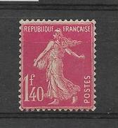FRANCE 1924-1926  Semeuse YT 196 Rose  Neuf** - France