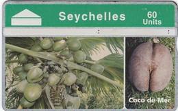 SEYCHELLES SR 100 USED PHONECARD (TRAY 1) - Seychelles