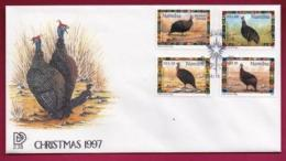 NAMIBIA, 1997, First Day Cover, Stamps, Christmas,  Michel 2-28, F3902