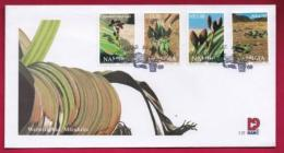 NAMIBIA, 2000, First Day Cover, Stamps, Welwitchia,  Michel 3-25, F3932