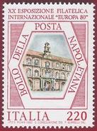 1980 - Europa 80 International Stamp Exhibition - Yt:IT 1417 - MNH - 6. 1946-.. Repubblica