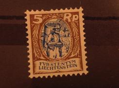 Liechtenstein 1924 5R Vinedresser Mint SG 68 Mi 66
