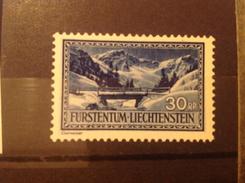 Liechtenstein 1934 30R Saminatal MNH SG 133 Mi 132
